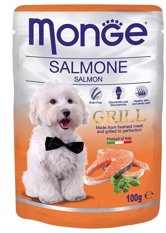 Monge Dog Grill Pouch паучи для собак лосось 100 гр.