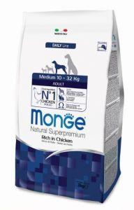 Monge Dog Medium корм для взрослых собак средних пород  3 кг.