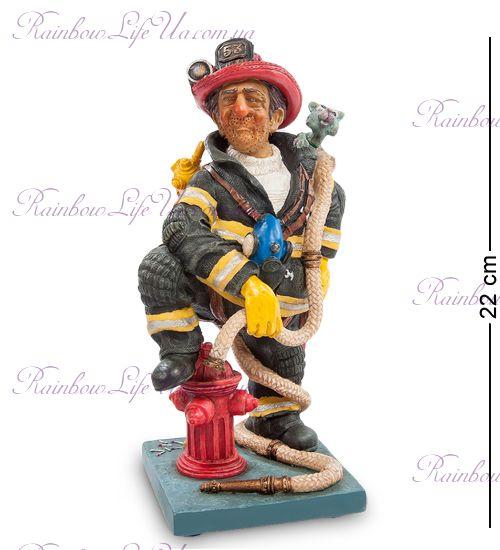 """Статуэтка пожарный """"The Firefighter. Forchino"""""""