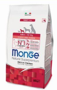 Monge Dog Mini корм для щенков мелких  пород 800г