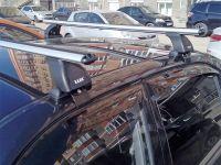 Багажник на крышу Hyundai Accent, аэродинамические дуги (53 мм)