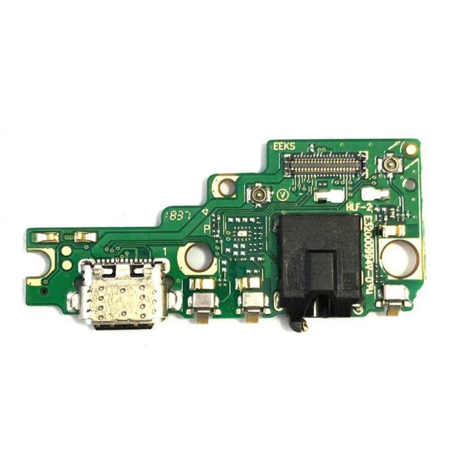 Нижняя плата с разъемами зарядки, наушников и микрофоном для Asus ZenFone 5 (ZE620KL)