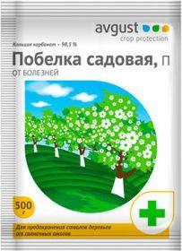 """Садовая побелка 500 гр""""Avgust""""/30"""