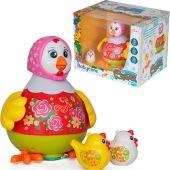 Интерактивная игрушка «Танцующая Ряба» - курочка и цыплята в наборе, BabyCare