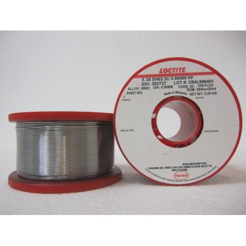 Припой Multicore X39 SN62/Pb36/Ag2 0,56 мм