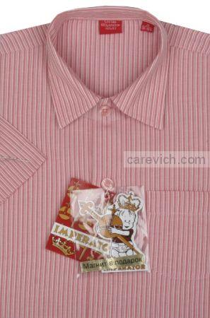 Рубашка с коротким рукавом, оптом 10 шт., артикул: Classic 163-K