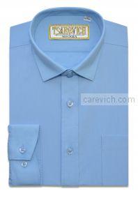 "Рубашки для мальчиков оптом ""Царевич"" (6-14 лет.). 10 шт. Артикул:Bell Blue"