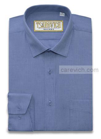 "Рубашки для мальчиков оптом ""Царевич"" (6-14 лет.). 10 шт. Артикул: LT Blue slim"
