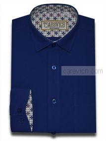 """Рубашки для мальчиков оптом """"Царевич"""" (6-14 лет.). 10 шт. Артикул: Royal/ K69-25"""