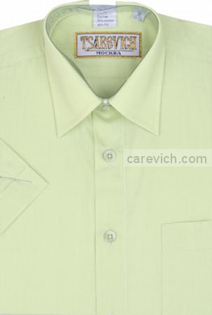 "Детская рубашка школьная,    ""ЦАРЕВИЧ"", оптом  10 шт., артикул: Lime-К"