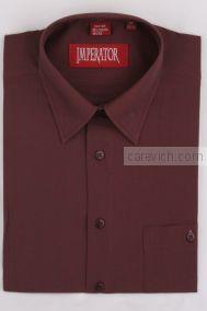 """Рубашки ПОДРОСТКОВЫЕ """"IMPERATOR"""", оптом 12 шт., артикул: Maroon 2X -П"""
