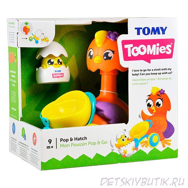 Каталка Toomies - Утка с яйцом в тележке