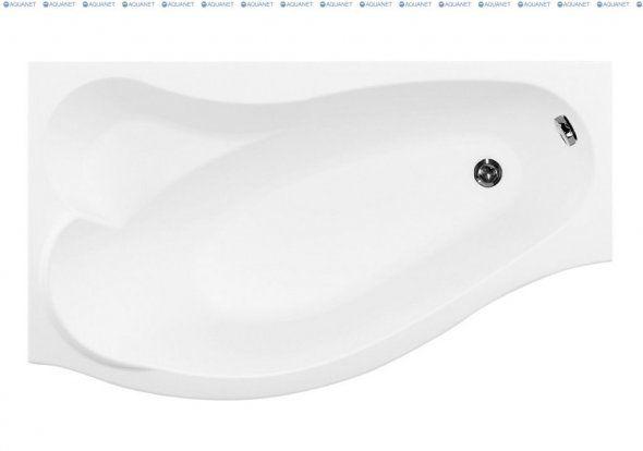 Акриловая ванна Aquanet Palma 170x90/60L