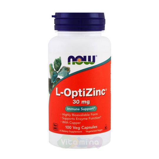 L-OptiZinc (L-ОптиЦинк) Комплекс цинка и меди. 100 капс