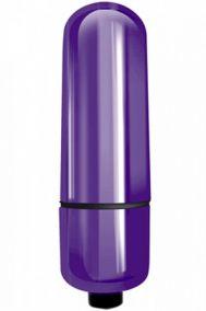 Вибропуля Indeep Mady фиолетовая, 6*1,6 см