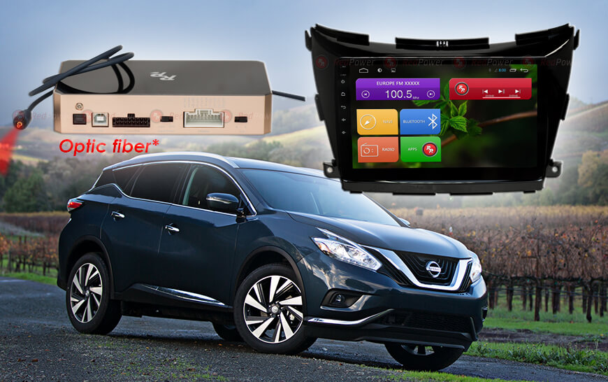 Redpower 31311 R IPS DSP ANDROID 7 Nissan Murano Z52 (2015+)