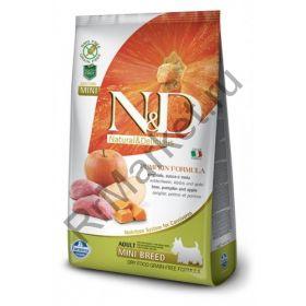 N&D Dog GF Pumpkin Boar & Apple Adult Mini-Кабан, тыква, яблоко. Полнорационное питание для взрослых собак.