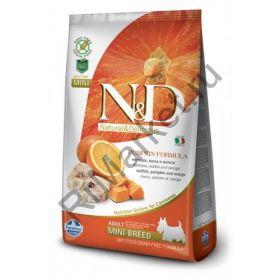 N&D Dog GF Pumpkin Codfish & Orange Adult Mini-Треска, тыква, апельсин. Полнорационное питание для собак