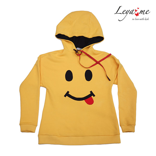 """Свитшот желтый """"Smile"""""""
