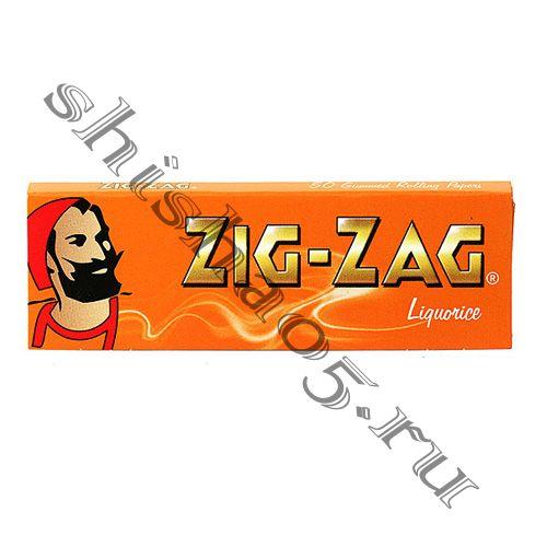 Бумага самокруточная ZIG-ZAG - Liquorice