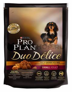 Корм сухой Pro Plan Duo Delice Small Adult Chicken для взрослых собак мелких пород с цыпленком и рисом 0,7 кг