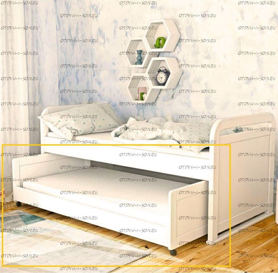Кровать подкатная к кровати Мурзилка №В