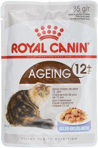 Консервы Royal Canin Ageing +12 пауч для кошек старше 12 лет с мясом в желе 85 гр.