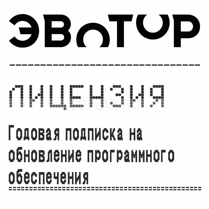 Лицензия Эвотор