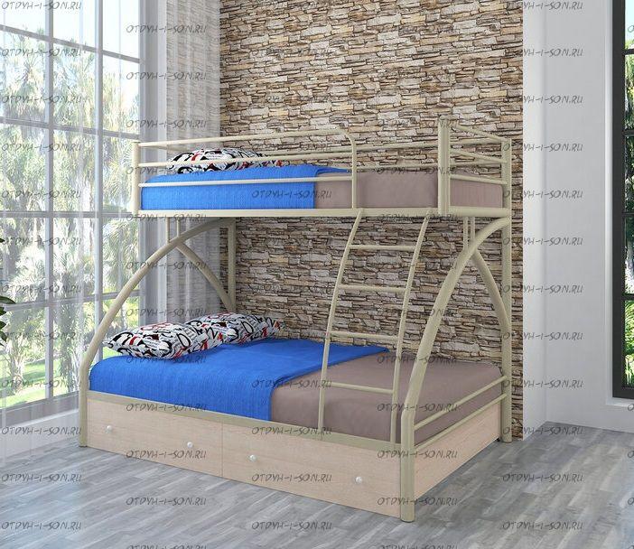 Кровать двухъярусная Клео 2 +Я Лофт