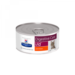 Hill's Prescription Diet Feline (cans) i/d with Chicken 24/156g