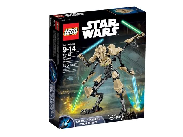 Генерал Гривус Звёздные войны 2015. Конструктор ЛЕГО 75112