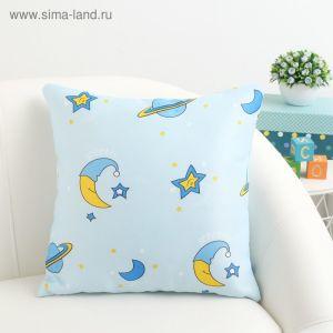 Подушка декоративная Крошка Я «Млечный Путь» цвет голубой, 40?40 см, 100% п/э