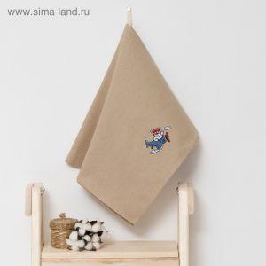 """Полотенце детское """"Доляна"""" Мишка, цвет песочный 40х70 см, 100% хлопок, 150 г/м?"""