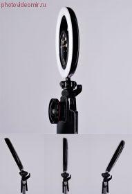Селфи лампа FST SML-022 черная