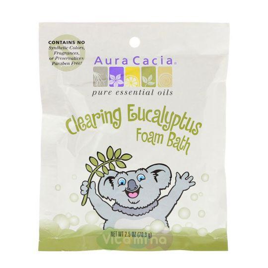 Aura Cacia Пена для ванны с Эвкалиптом Clearing Eucalyptus