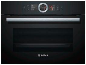 Компактный паровой духовой шкаф Bosch CSG656RB6 Home Connect