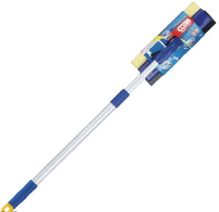Моп для мытья окон с телескопической ручкой AT-2149