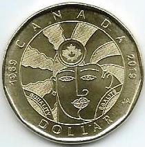 50 лет декриминализации гомосексуализма в Канаде 1 доллар Канада 2019