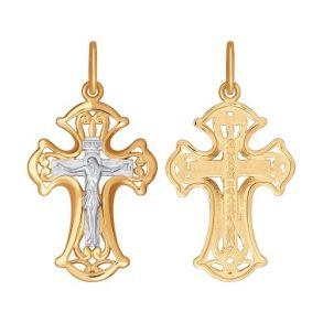 Крест из золота 121381 SOKOLOV