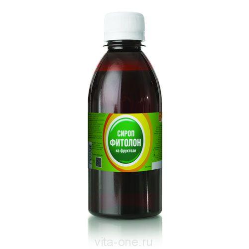 Сироп с хлорофиллом на фруктозе ФИТОЛОН 100 мл