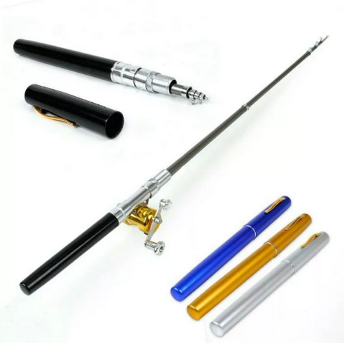 Карманная удочка в виде рукчи Fishing Rod in Pen Case