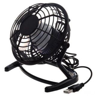Настольный USB-вентилятор Mini Fan, Чёрный