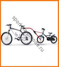 Прицепное устройство детского велосипеда к взрослому Peruzzo TRAIL ANGEL (Тандемная велоштанга)