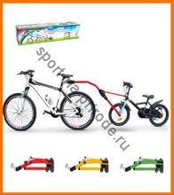 Прицепное устройство детского велосипеда к взрослому Peruzzo TRAIL ANGEL (Тандемная велоштанга) в сборе