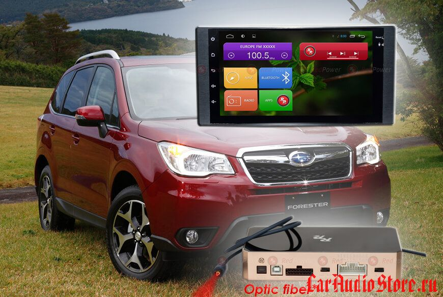 Subaru RedPower 31062 IPS DSP ANDROID 7