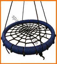 """Подвесные качели """"гнездо"""" диаметром 115 см"""
