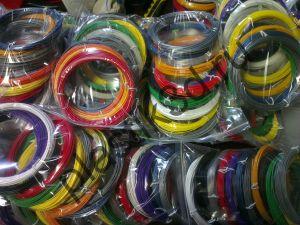 Набор пластиковой нити для 3д ручки 12 цветов.ABS