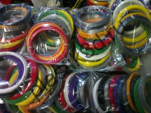 Набор пластиковой нити для 3д ручки 12 цветов.PLA