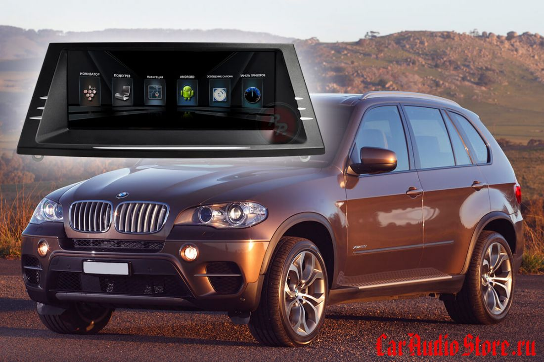 BMW X5 (кузов E70 2011-2014) и X6 кузов (E71, E72 2011-2014) RedPower 31104 IPS