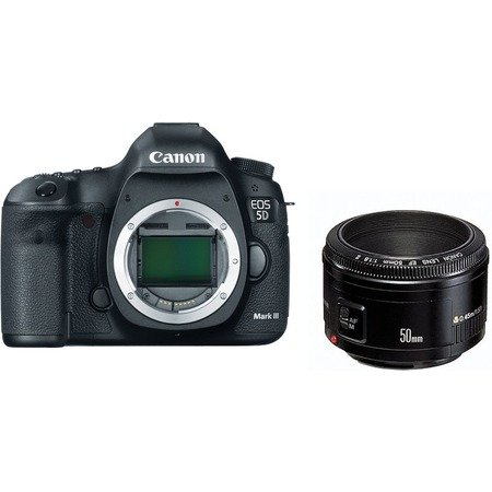 Canon EOS 5D Mark III kit EF 50 f/1.8 II